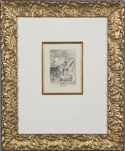 "9032: Renoir, Etching of ""Chapeau Epingle"""