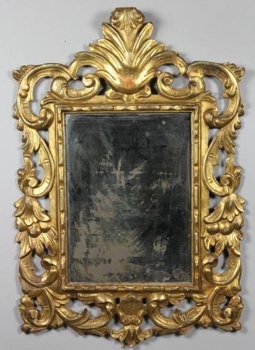 9055: Italian Rococo Mirror