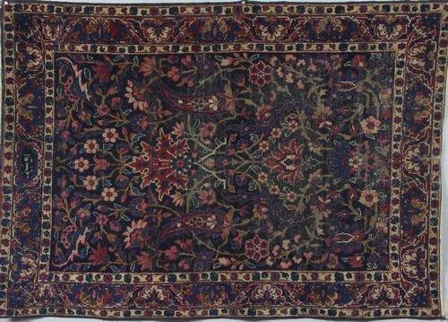 9025: Antique Persian Kirman Rug