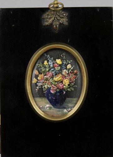9012: Giardelli, Floral Vase, O/B