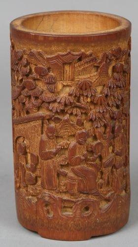 7021: Chinese Bamboo Brush Pot