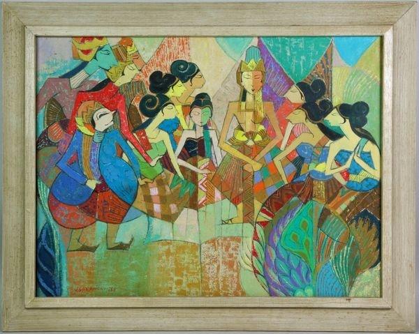 7029: Portrait of Indonesian Dancers