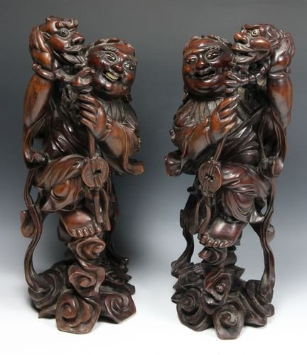 7055: Japanese 19th C. Figures