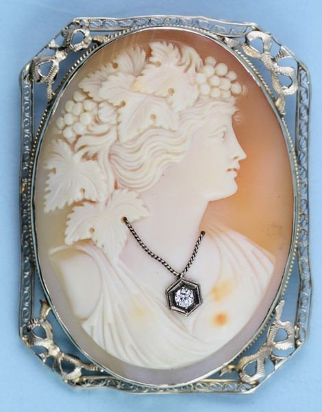 2010: Italian Carved Cameo Portrait