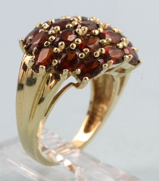 2014: 14K Gold and Garnet Ring