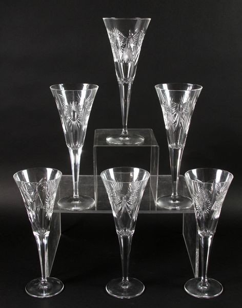 2021: Set of 6 Waterford Sherry Goblets