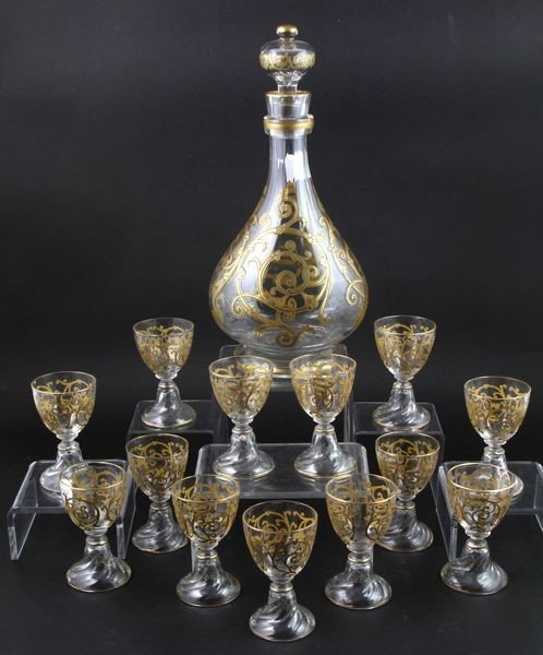 2038: Baccarat Decanter and Glasses