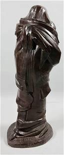 """2142: Baskin, """"The Prophet"""", Bronze"""