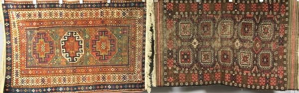 3022: Lot of 2 Oriental Carpets