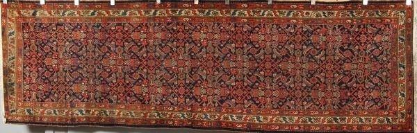 3071: Antique Persian Herati Rug