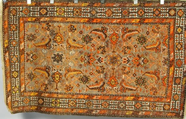 3005: Antique Persian Hamadan Rug