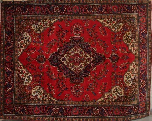 3014: Tabriz Rug