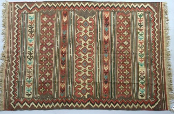 3023: Semi Antique Kilim Rug