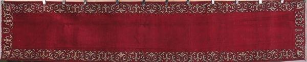 3029: Semi antique Persian Tabriz rug
