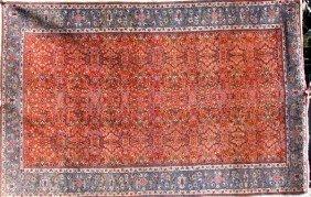 Semi-antique Persian Tabriz Rug