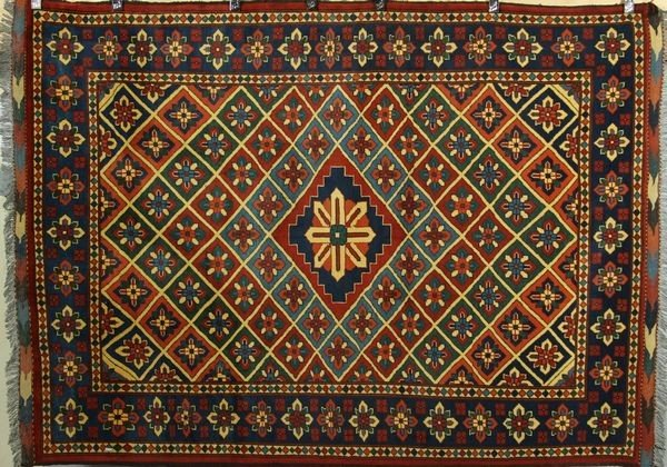 3062: Pakistan Kazak Caucasian Rug