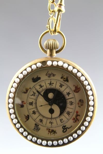 Chinese 19th/20th C. Pocket Watch - 2