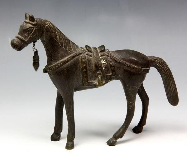 Chinese Bronze Horse Figurine