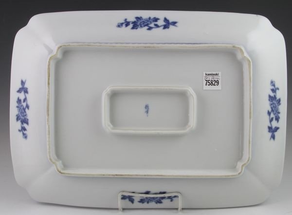 Chinese 19th C. Blue and White Platter - 2