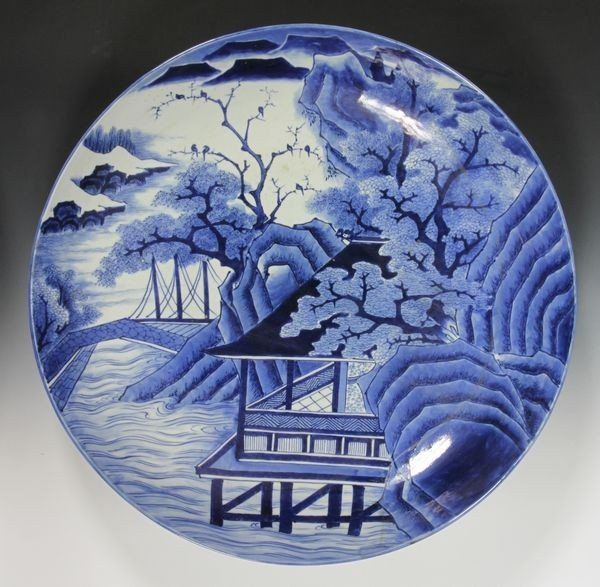 Japanese 19th C.  Imari Charger