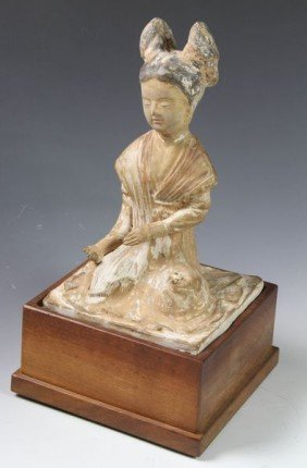 Chinese Tang Dynasty Pottery Figure