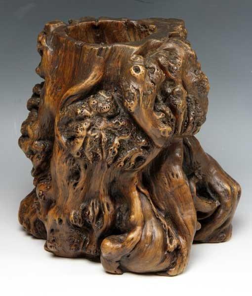 6011: Chinese 19th C. Brush Pot
