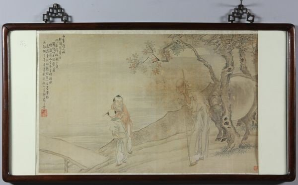 6016: Chinese 19th C. Painting