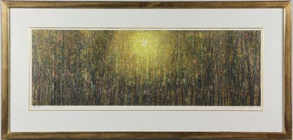 6172: Japanese 20th C. Woodblock Print