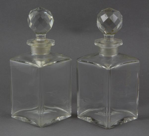 8004: Pair of Baccarat Decanters