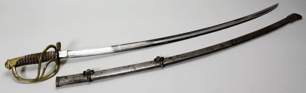 8005: U.S. 1864 Sword, Chelmsford, MA