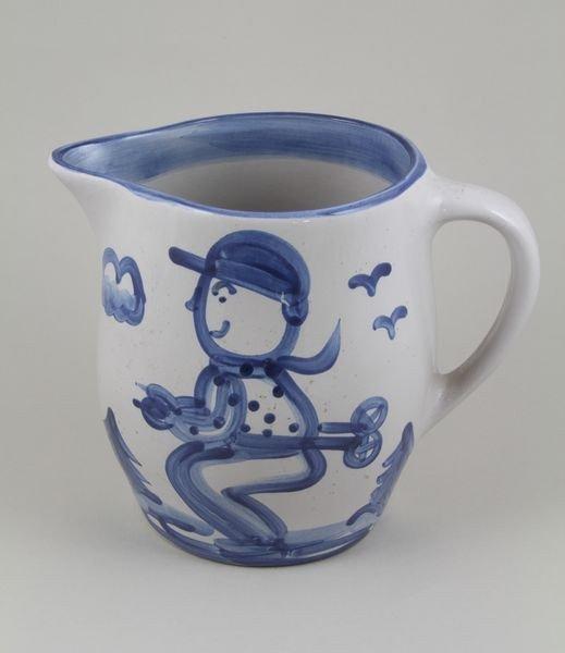 8010: Hadley Pottery Pitcher