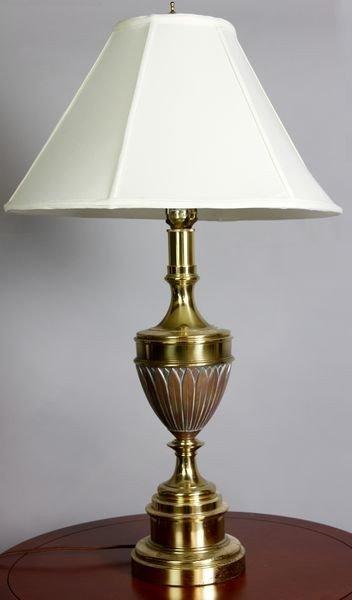 8016: 20th C. Brass Lamp