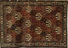 9019: Persian Bakhtiari Rug