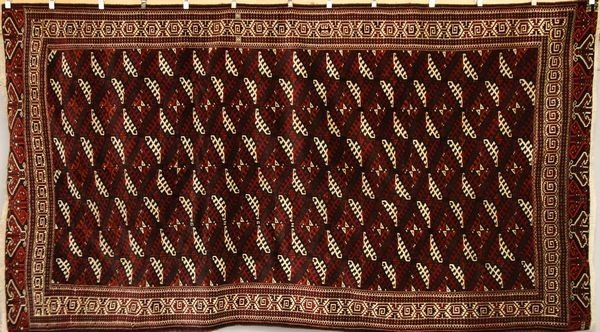 9020: Persian Turkmen Rug