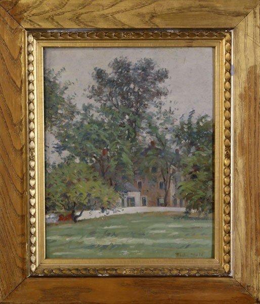1058: Wendel, Landscape, O/P