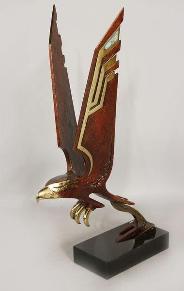 1111: Laine, Eagle in Flight, Bronze