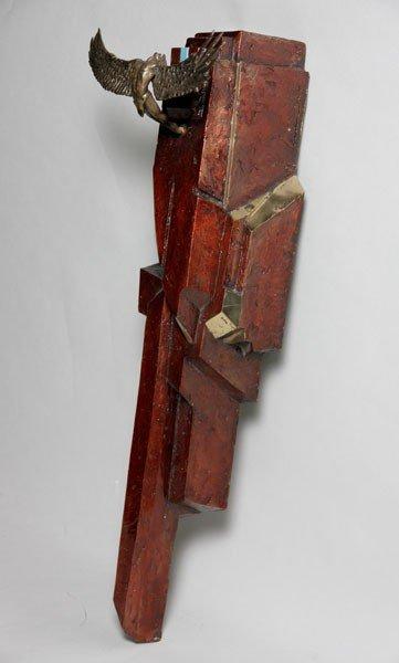 1112: Laine, Flying Figure, Bronze
