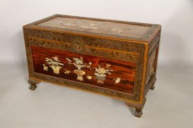 19th C. Chinese Carved Chest
