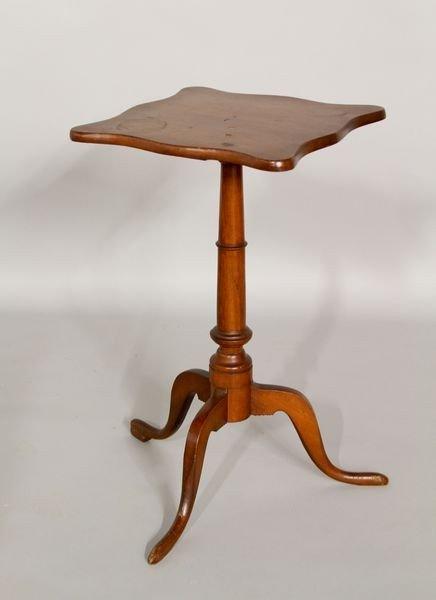 1187: Early American Mahogany Candlestand