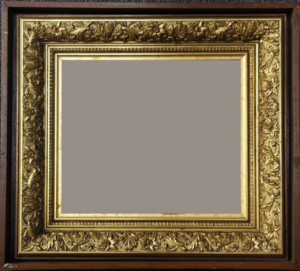 1189: 19th C. American Shadow Box Frame