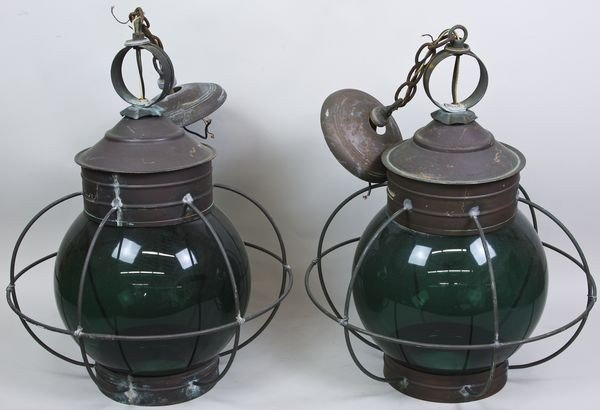 1024: Pair of Nautical Lanterns