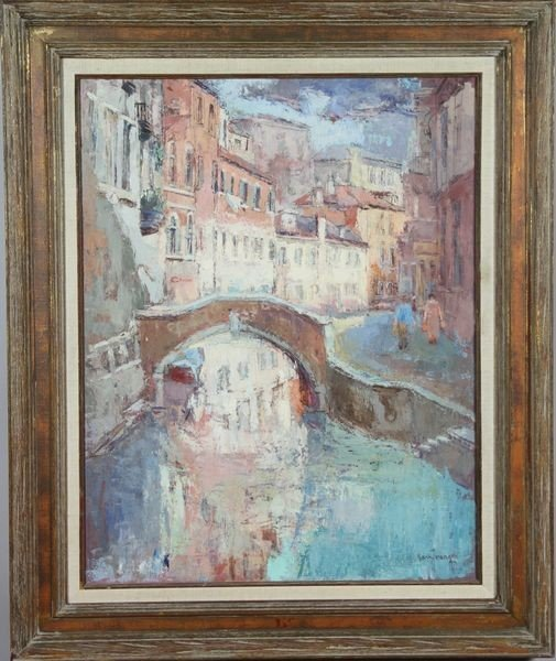 1044: Van Young, Venice, O/C