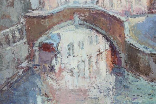 1044: Van Young, Venice, O/C - 3