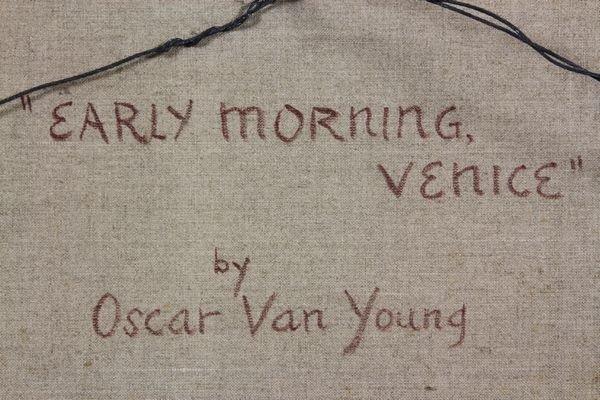 1044: Van Young, Venice, O/C - 6
