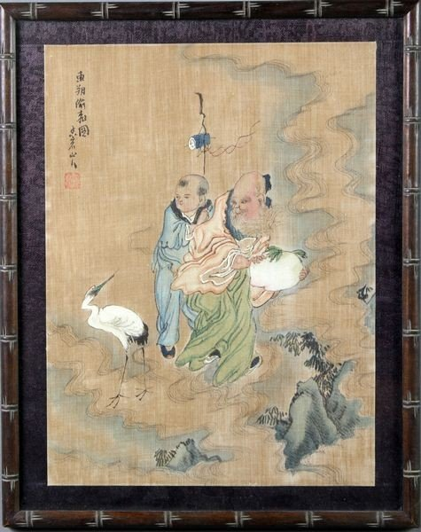 1059: Chinese 19th/20th C. Painting