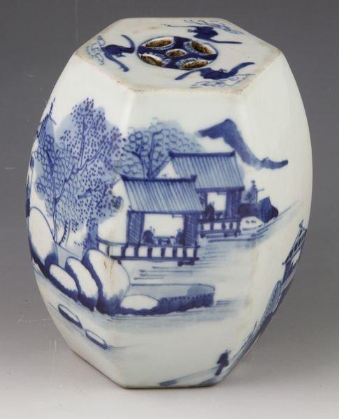 1069: 19th C. Chinese Miniature Garden Seat