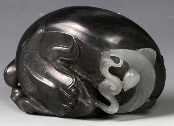 1145: 19th C. Chinese Jade Animal