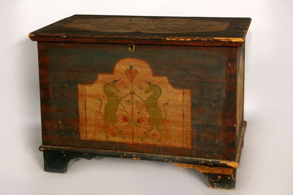 1158: Early 19th C. Chest