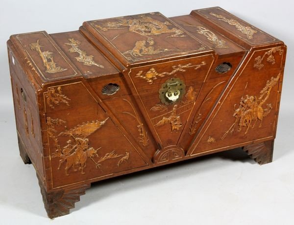 1167: 20th C. Chinese Trunk