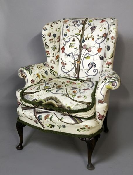 2023: Queen Anne Style Wing Chair